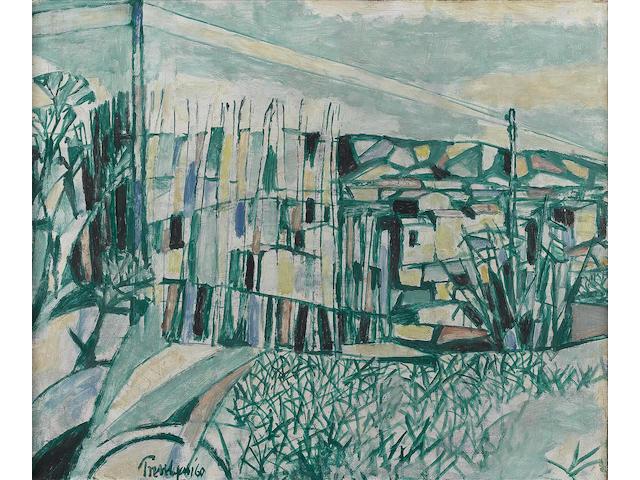 Julian Trevelyan R.A. (British, 1910-1988) Merindol 51 x 61 cm. (20 x 24 in.)