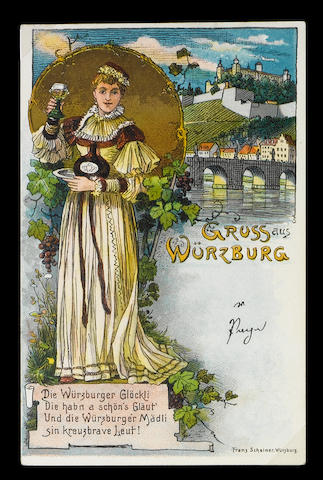 Europe A collection in six albums inc. undivided backs, street scenes, seaside, France, Germany, Austria, Switzerland, dog carts, paddle steamers, Gruss aus, Liebig cards, Hamburg harbour, factories, oyster beds, WWI Daily Mail pictures, Paris flooding 1910 etc., G-VG.