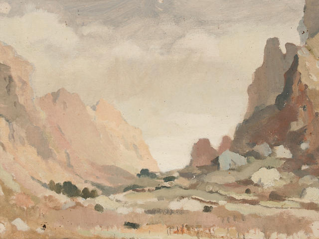Adolphe Valette (French, 1876-1942) 'Pollensa',