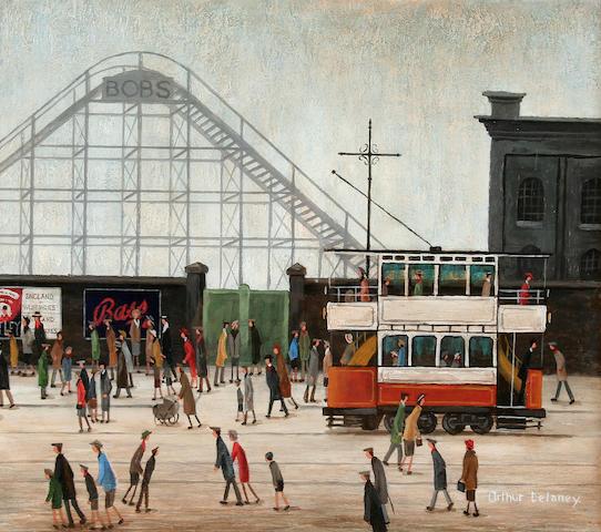 (n/a) Arthur Delaney (British, 1927-1987) Belle Vue, Manchester,