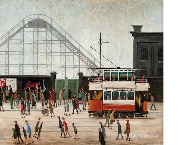 Arthur Delaney (British, 1927-1987) Belle Vue, Manchester,