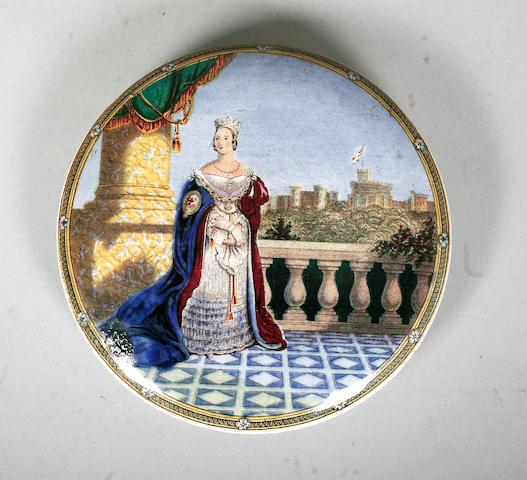 Queen Victoria on Balcony