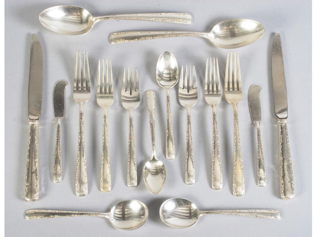 A 20th Century part canteen of American cutlery By Gorham,
