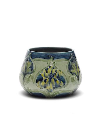 William Moorcroft 'Iris' a Florian Ware Vase, circa 1900