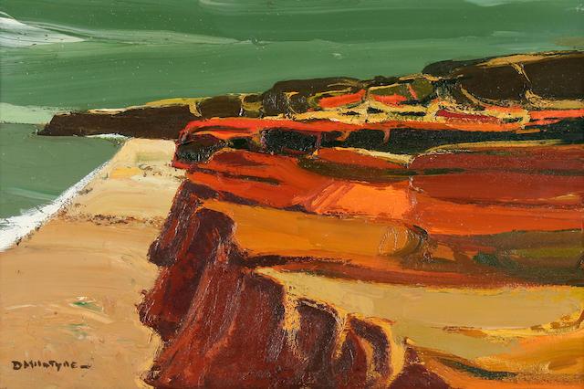 "Donald McIntyre (British, born 1923) ""Anglesey Coast"","