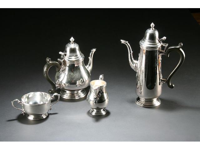 4 piece tea service