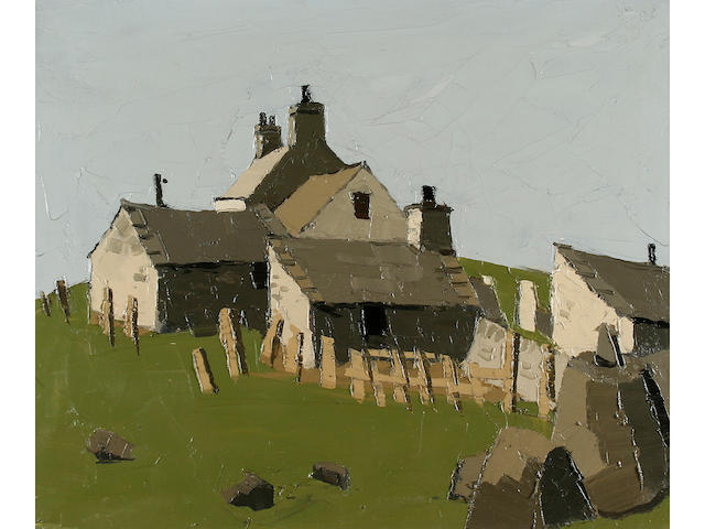 Sir Kyffin Williams, R.A. (British, 1918-2006) Anglesey Farm Cottage,