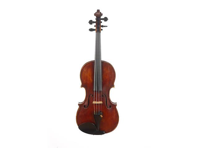 A Good Violin attributed to Giuseppe Giacchetti circa 1953