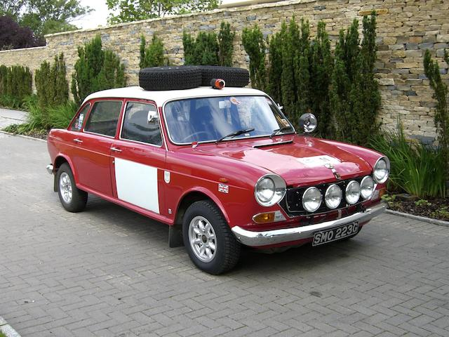 Ex-works London to Sydney Marathon 'Landcrab',1968 Morris 1800 MkII Saloon  Chassis no. MH58D4701A Engine no. CEXP101