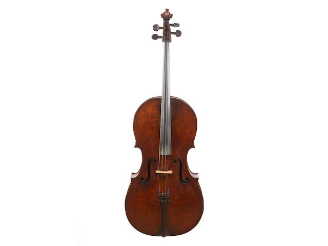 An English Violoncello of the  Banks School,  circa 1790