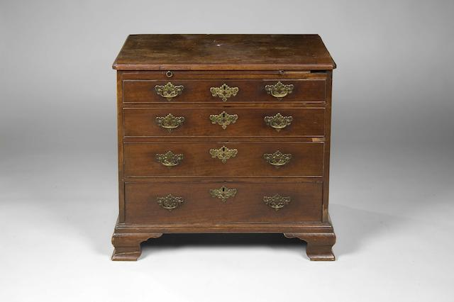 A George II mahogany dressing chest