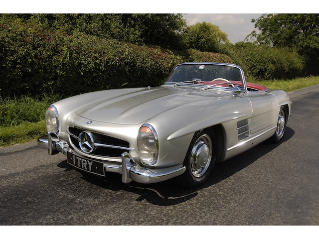 1958 Mercedes 300SL Roadster 1980042-8500067