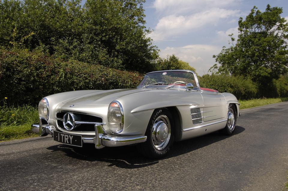 1958 Mercedes 300SL Roadster  Chassis no. 1980042-8500067 Engine no. 198980-7500569