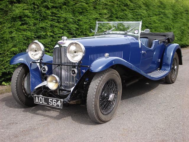 1934 Lagonda 4½-litre M45 T7 Tourer  Chassis no. Z 10990 Engine no. 2740 on engine (M45/274 on builder's plate)