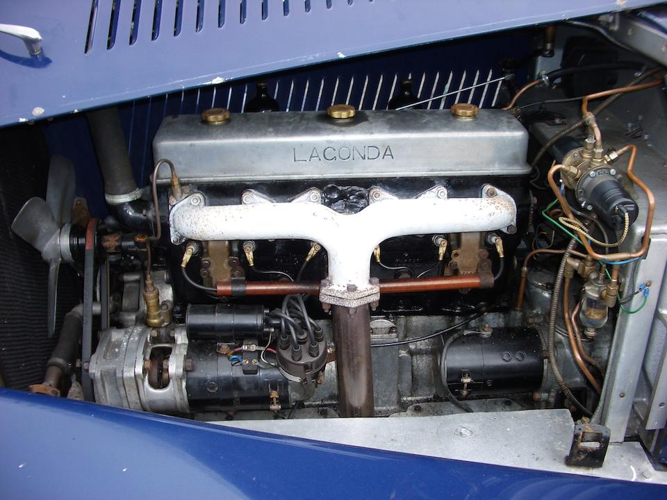 1934 Lagonda 4½-litre M45 T7 Tourer  Chassis no. Z 10990 Engine no. 2740 on engine (M45/274 on builder's plate)