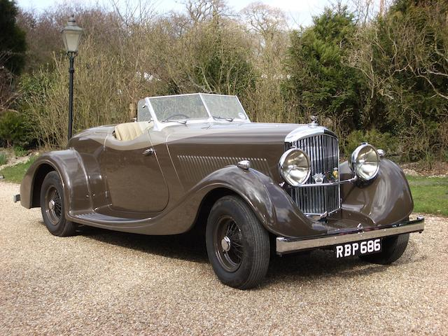 By order of the Executors of the late Lord David Strathcarron,1954 Bentley R-type 4½-litre  Special Roadster  Chassis no. B51UL Engine no. B25U