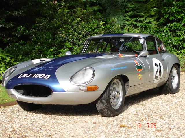 1963 Jaguar E-Type Series I 4.2-Litre Competition Coupé  Chassis no. to be advised Engine no. 2D59702-8