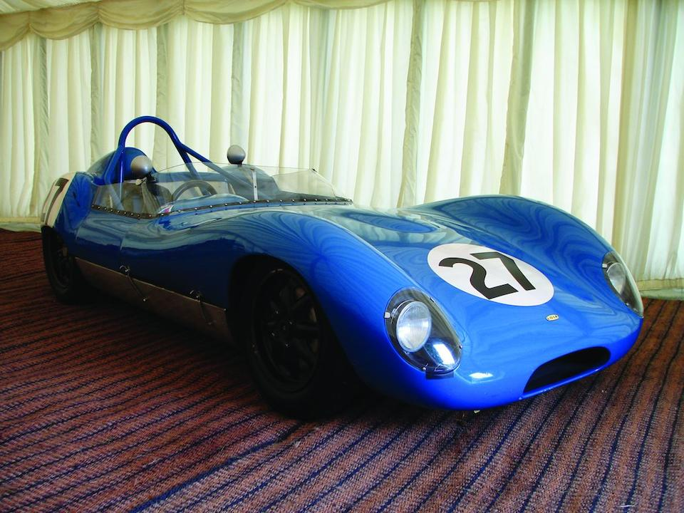 The Lord March and ex-Lord Clydesdale,1959 Lola-Climax Mark I Sports-Racing Two-Seater  Chassis no. 21
