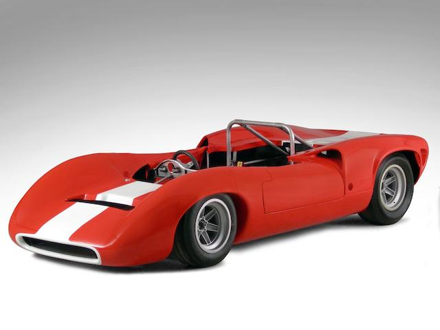 Lola T70 Mark III Spyder Replica Rolling Chassis  Chassis no. ACA0012