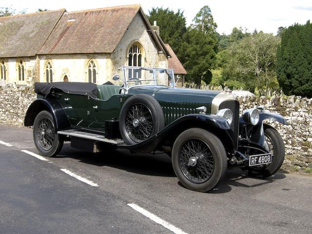 1928 Bentley 4½-Litre Tourer  Chassis no. FT3205 Engine no. MF3154