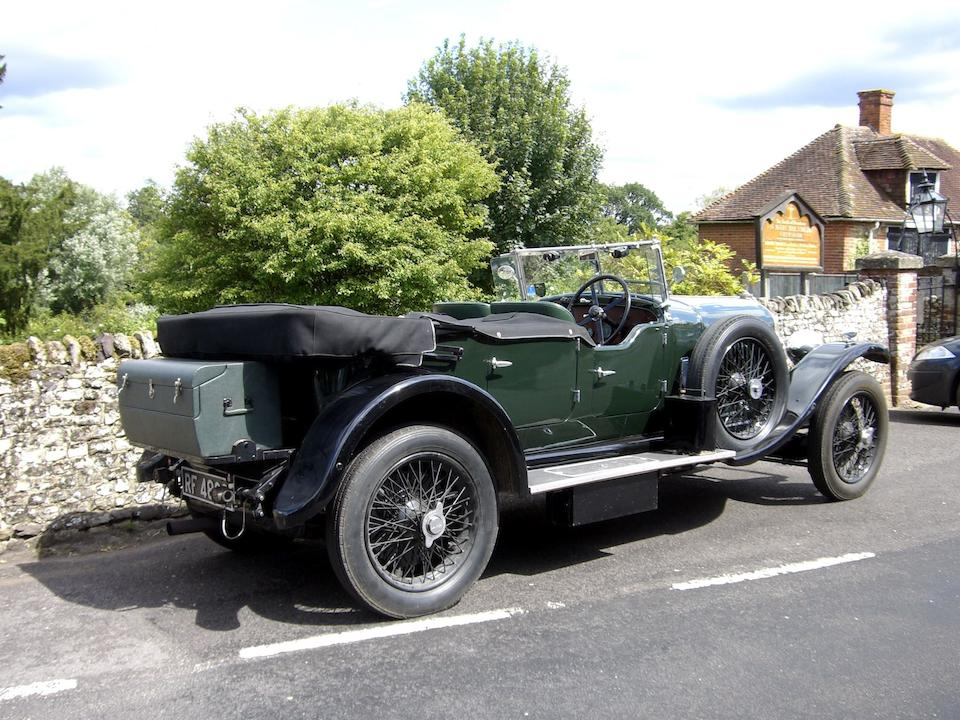 1928 Bentley 4½-Litre Tourer  Chassis no. FT3205 Engine no. MF3154