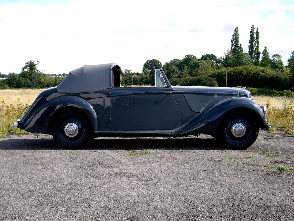 1952 Armstrong Siddeley 18hp Hurricane Drophead Coupé  Chassis no. 1812323 Engine no. E1812031