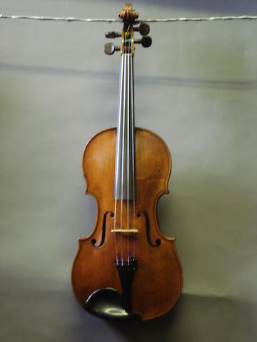 A Violin of quality attributed to J.U.Eberle,  Prague, circa 1760