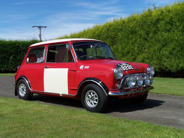 Bonhams 1967 Austin Mini Cooper S 1275cc Works Replica Rally Car