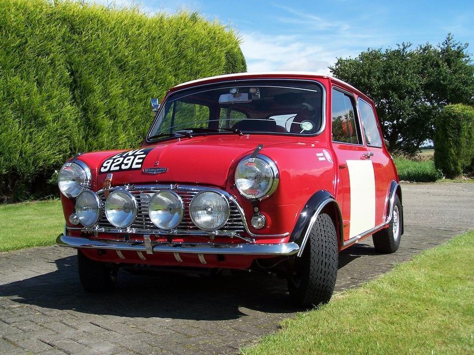 1967 Austin Mini Cooper S 1,275cc Works Replica Rally Car  Chassis no. C-A2S7/1012370