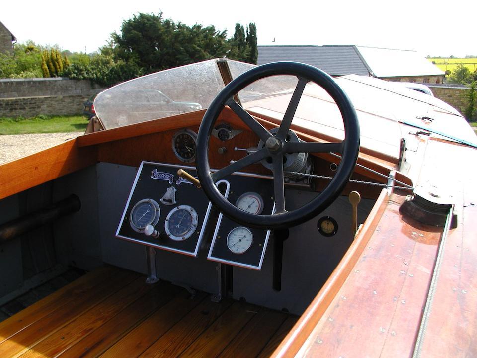 The 1914 British International Trophy Motorboat Racing Championship Contender,Batboat III - Hispano-Suiza Engined Racing Hydroplane