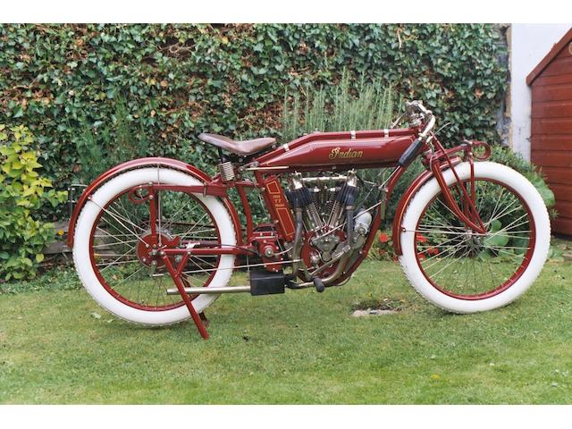 1914 Indian 8hp TT Model  Engine no. 81F763