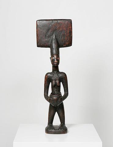 A Yoruba, Sango wood figure