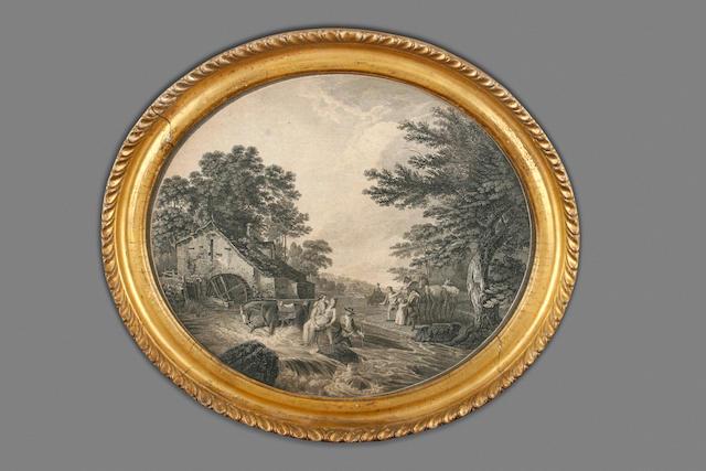 Circle of Francesco Bartolozzi, R.A. (British, 1727-1815) The rescue