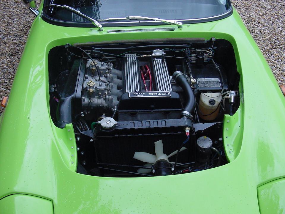 1972 Lotus Elan S4 Sprint Drophead Coupé  Chassis no. 7110260379E Engine no. N25297