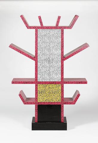 Ettore Sottsass for Memphis Milano, a 'Casablanca' cabinet, designed 1981 the plastic laminate venee