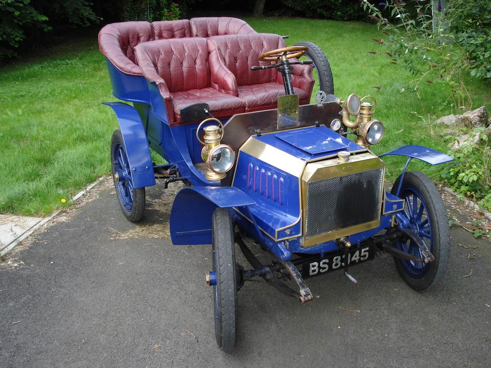 1904 Autocar 12hp Twin Cylinder Model VIII Rear Entrance Tonneau  Chassis no. 1637 Engine no. 1725