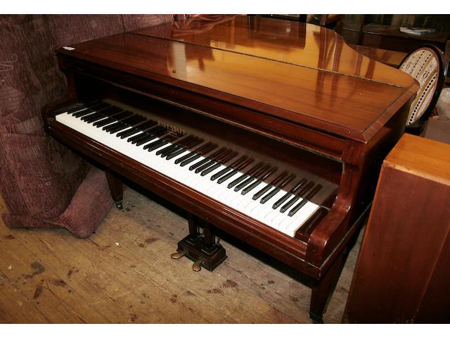 An Eavestaff boudoir grand piano,