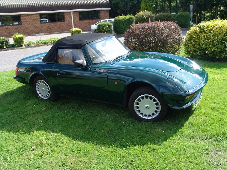 One owner, 1,285 miles from new,1993 Evante Gran Premio Convertible  Chassis no. 026005 Engine no. D1705-2