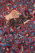 A Romanian Tabriz hunting carpet