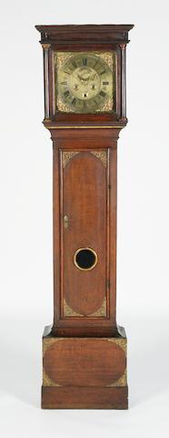 A mid 18th century longcase clock William Lock, Taunton