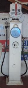 An Avery-Hardoll 'Clock face' electric petrol pump,