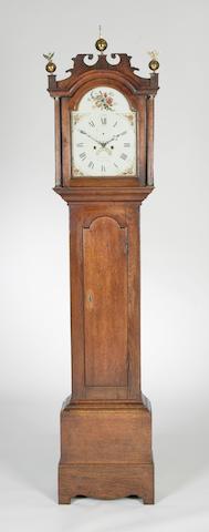 An early 19th century longcase clock, Dawes of Attleburgh