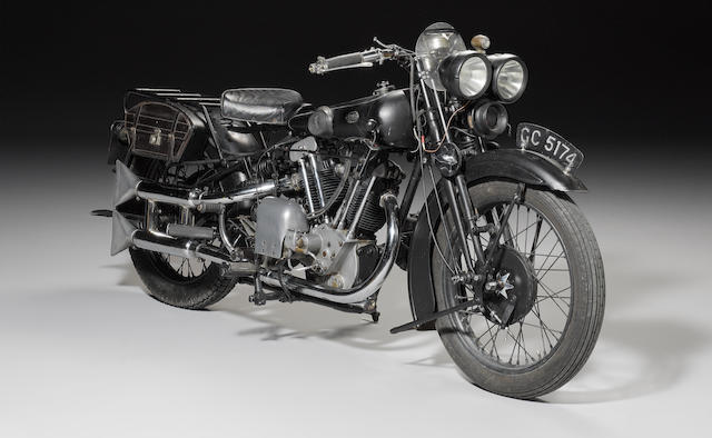 1930 Brough Superior 680 Black Alpine,