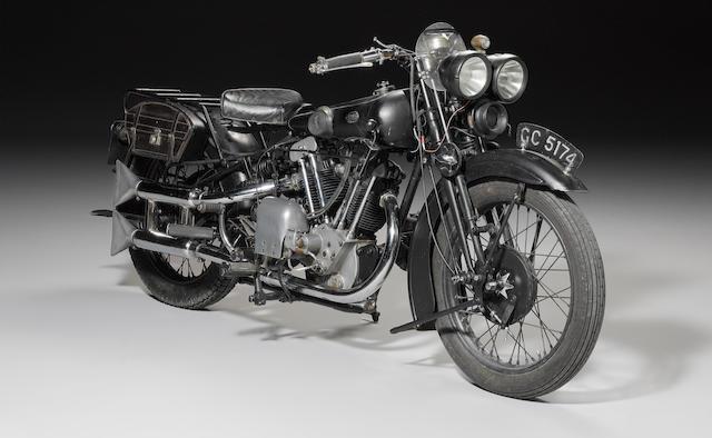 1930 Brough Superior Black Alpine 680 Frame no. 970 Engine no. GTOY/S 91691/HS
