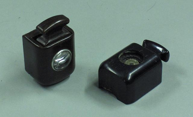 Two Rolls-Royce cigar lighters,