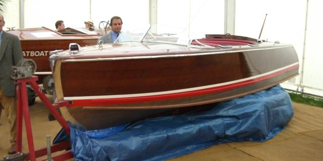 """Rana"" a 17ft,Chris Craft De Luxe Runabout"