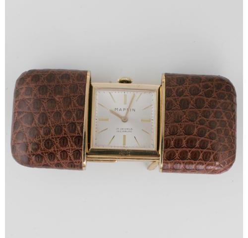 A blue enamel and diamond set fob watch, 2
