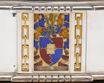 A. E. JONES : A silver, silver-gilt and enamelled casket / cigar box,