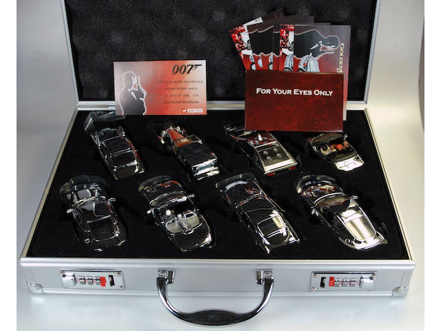Production Line Number Seven James Bond Casino Briefcase