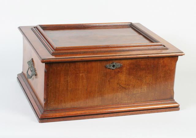 A Polyphon disc musical box
